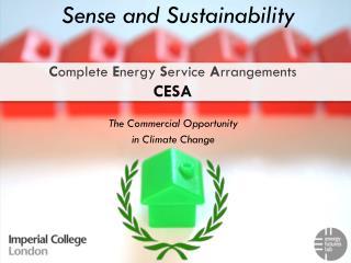 C omplete  E nergy  S ervice  A rrangements CESA