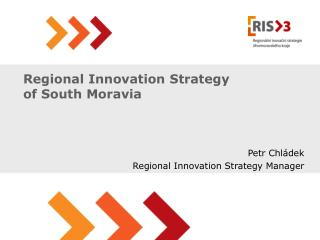Regional Innovation Strategy of South Moravia