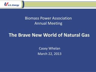 Biomass Power Association Annual Meeting