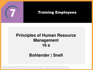Training Employees