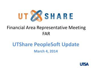 Financial Area Representative Meeting F AR