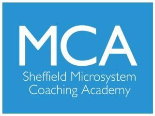 Sheffield  Microsystem Coaching  Academy