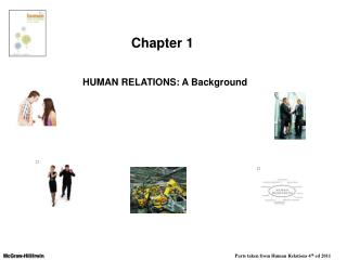 HUMAN  RELATIONS: A Background