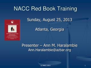 NACC Red Book Training