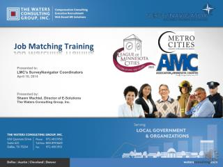 Job Matching Training