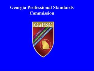 Georgia Professional Standards Commission