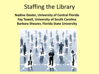 Staffing the Library
