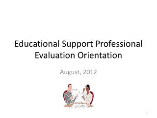 Educational Support Professional Evaluation Orientation
