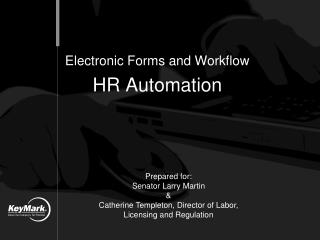 Electronic Forms and Workflow HR Automation