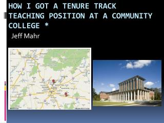 How I got a tenure track teaching position at a community college *