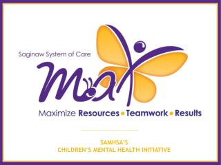SAMHSA'S CHILDREN'S MENTAL HEALTH INITIATIVE