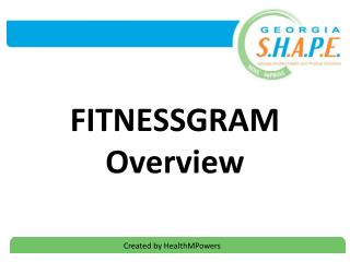 FITNESSGRAM Overview
