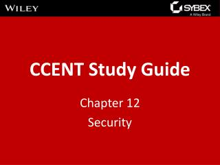 CCENT Study Guide