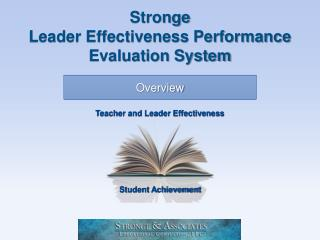 Stronge Leader Effectiveness Performance Evaluation System