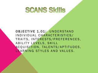 SCANS Skills
