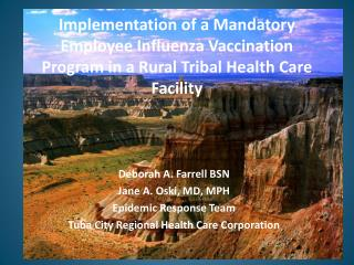 Implementation of a Mandatory Employee Influenza Vaccination Program in a Rural Tribal Health Care Facility