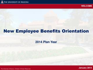 The University of Arizona – Division of Human Resources