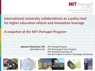 International university collaborations as a policy tool for higher education reform and innovation leverage A snapshot