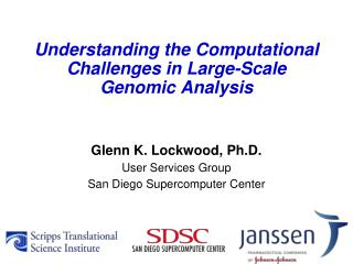 Understanding the Computational Challenges in Large-Scale Genomic Analysis