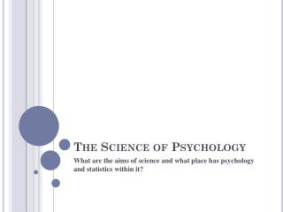 PPT Psychological Science