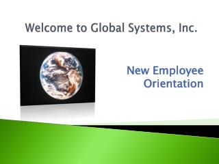 Welcome to Global Systems, Inc.