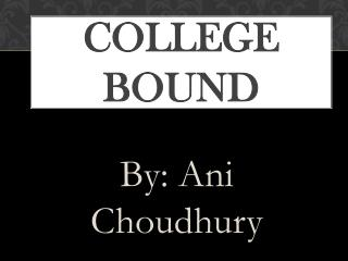 College Bound