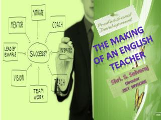 THE MAKING OF AN ENGLISH TEACHER
