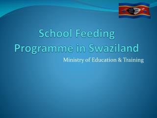 School Feeding Programme in Swaziland