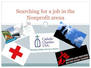 Searching  for a job in the Nonprofit arena
