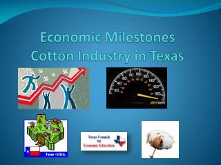 Economic Milestones Cotton Industry  in Texas