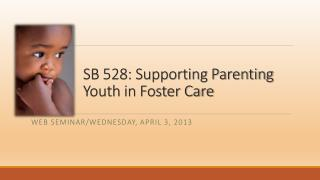 SB 528: Supporting Parenting Youth in Foster Care