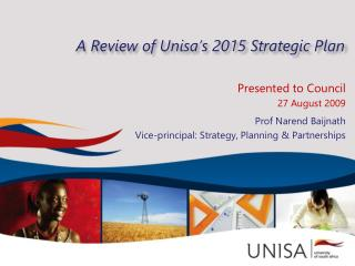 A Review of Unisa's 2015 Strategic Plan