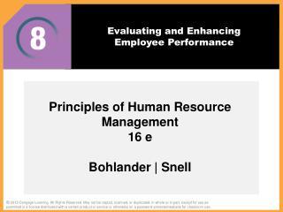 sherman and bohlander Arthur sherman, george w bohlander, scott a snell no preview available - 1999 administración de recursos humanos.