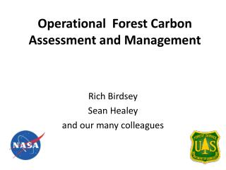 Operational  Forest Carbon Assessment and Management