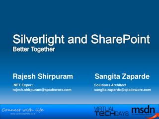 silverlight and sharepoint  better together