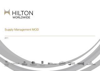 Supply Management MOD