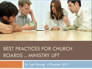 Best Practices for Church Boards .. Ministry Lift