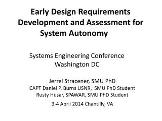 Systems Engineering Conference  Washington DC