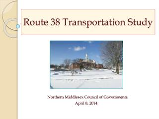 Route 38 Transportation Study