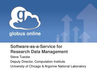 Software-as-a-Service for  Research Data Management
