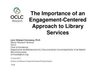 The Importance of an Engagement-Centered Approach to Library Services