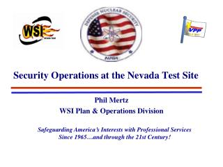 Security Operations at the Nevada Test Site