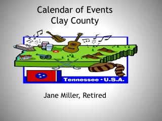 Calendar of Events Clay County