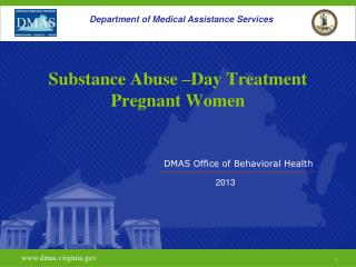 Substance Abuse –Day Treatment Pregnant Women