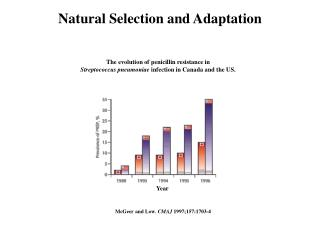 Natural Selection and Adaptation
