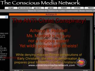 the anti-christ conspiracy