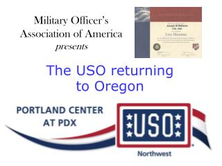 The USO returning  to Oregon