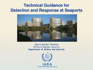 Technical  Guidance for Detection and  Response at Seaports