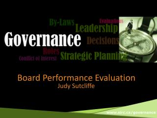 Board Performance Evaluation