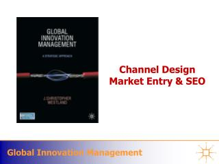 Channel  Design  Market  Entry & SEO